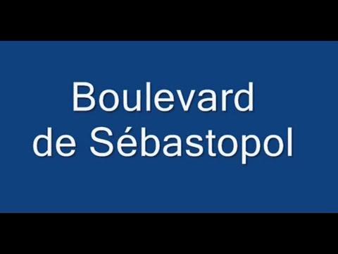 Boulevard de Sébastopol Paris Arrondissements  1er, 2e, 3e, et 4e
