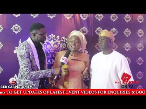 P SQUARE - KING SUNNY ADE - SEYI LAW - PRINCE TALK @ 80TH BIRTHDAY