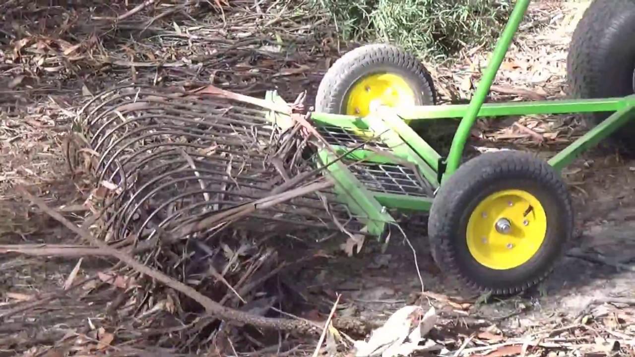 Stumpman S Stick Rake Ride On Mower Lawn