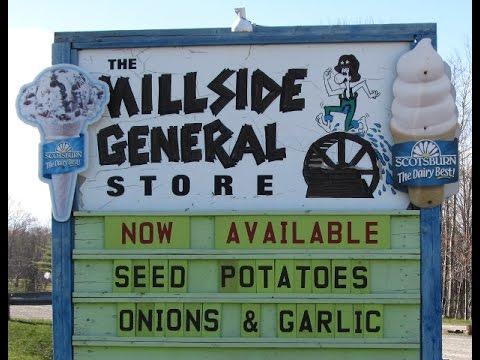 Millside General Store on the Sunrise trail hwy 6 Pictou, Nova.Scotia