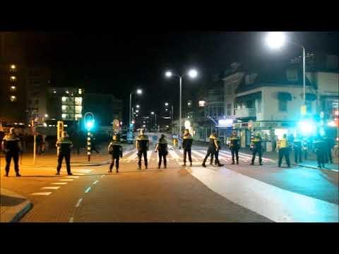 De Grent Noordwijk Rellen na aanhouding 18 08 2017