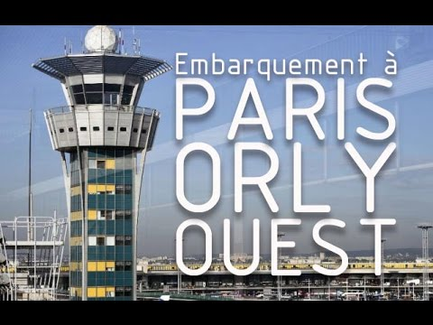 Aeroport d'Orly, Terminal Ouest - Hall 2 | Paris Orly Airport, West Terminal