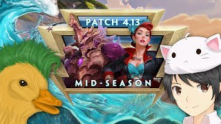 SMITE - Patch Discussion - 4.13 Mid-Season (w/ MythyMoo & Punk Duck)