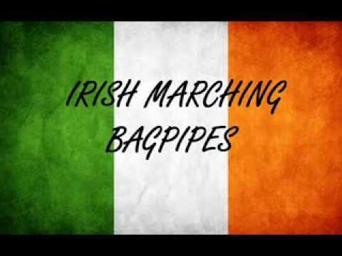 Irish Marching Bagpipes