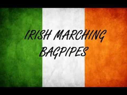 Irish Marching Bagpipes