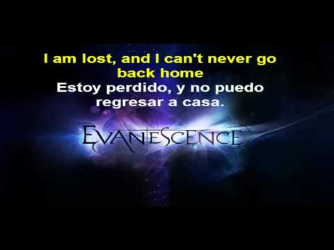Evanescence - Never Go Back (Subtitulado Ingles/Español CD Version HQ)