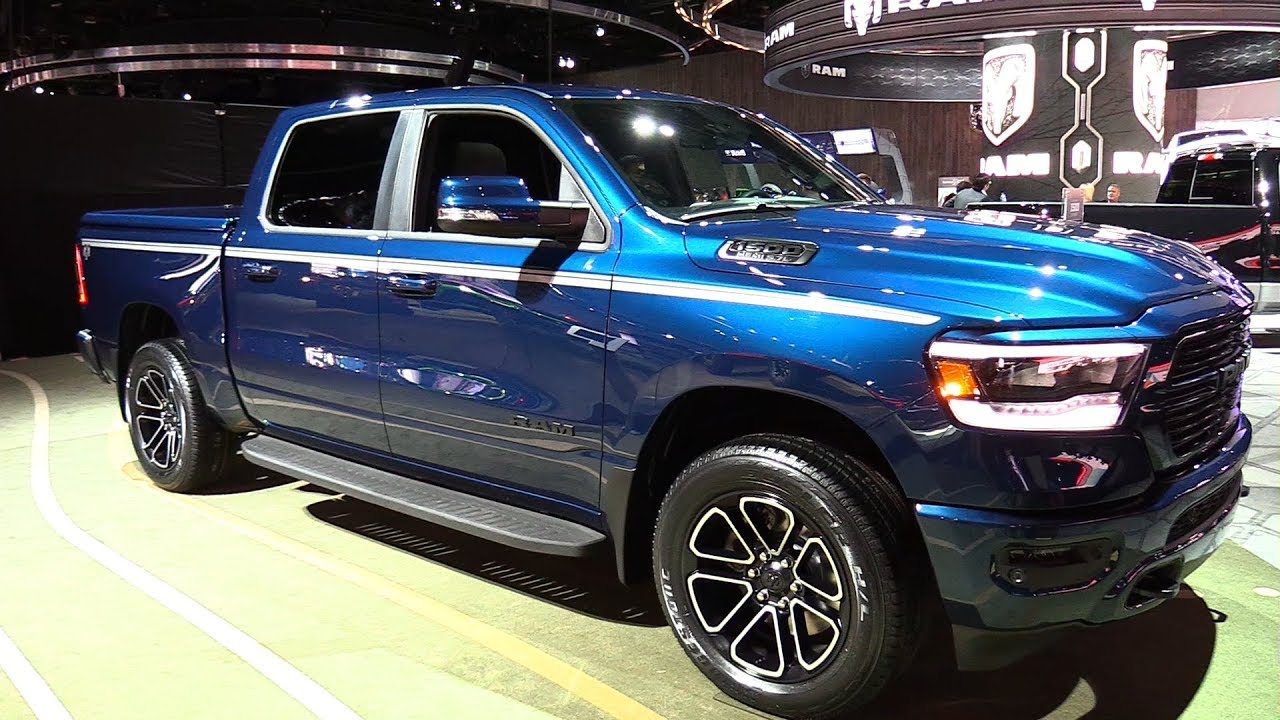 2019 Dodge RAM 1500 Big Horn - Exterior and Interior Walkaround - Debut at 2018 Detroit Auto ...