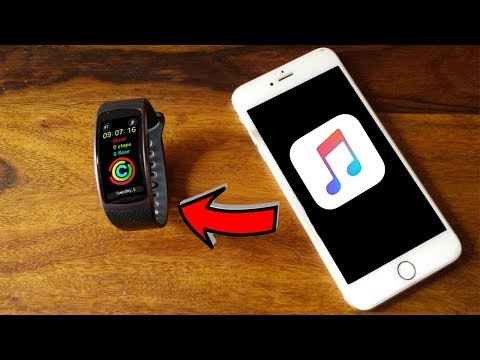 Sending music to your Gear Fit 2 / Pro using with iPhone Mp3
