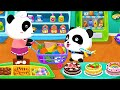 Play Baby Panda's Shopping Game - Have Fun Supermarket & Making Ice Cream Smoothies Kids Games