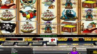 Slot Machine Game BlackBeards Revenge