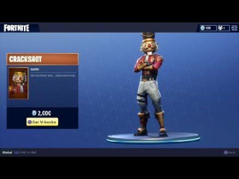 Fortnite Crackshot Outfit Nutcracker Holiday Character Youtube