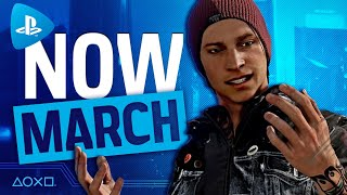 PlayStation Now - New Games March 2021