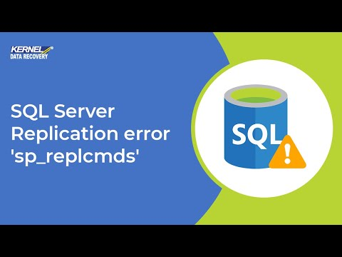 SQL Server Replication error 'sp_replcmds'