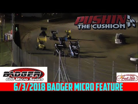 Angell Park Speedway - 6/3/18 - Badger Micros - Feature