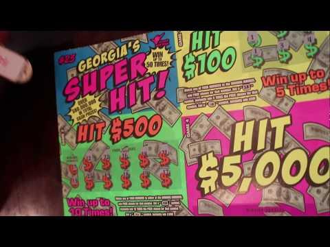 Georgia Lottery Big Ticket Winner!!! Georgia Super Hit Ticket
