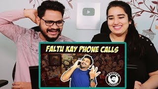 Indian Reaction On FALTU KAY PHONE CALLS ¦ AWESAMO SPEAKS