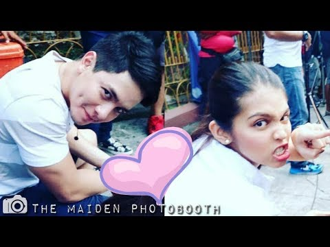 Maine and Alden @ Eat Bulaga Taping Earlier August 16 2017 #ALDUB25thMonthsary
