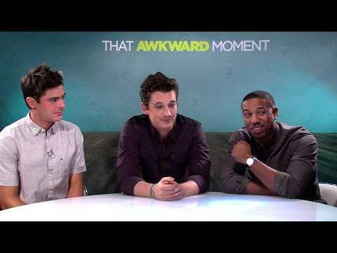 That Awkward Moment 2014 Exclusive: Zac Efron, Miles Teller and Michael B. Jordan HD Zac Efron,