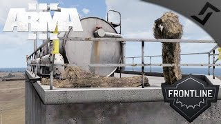 Russian Ghillie Sniper - ARMA 3 PVP Frontline RHS - Russian T-5000 Sniper Gameplay