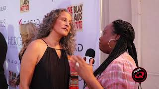 Gina Belafonte Honored at 'Heroes in The Struggle' Gala  by Black Aids Institute