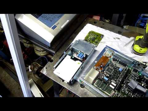 Amstrad PC5286 Personal Computer Hardware Inspection and Boot Up