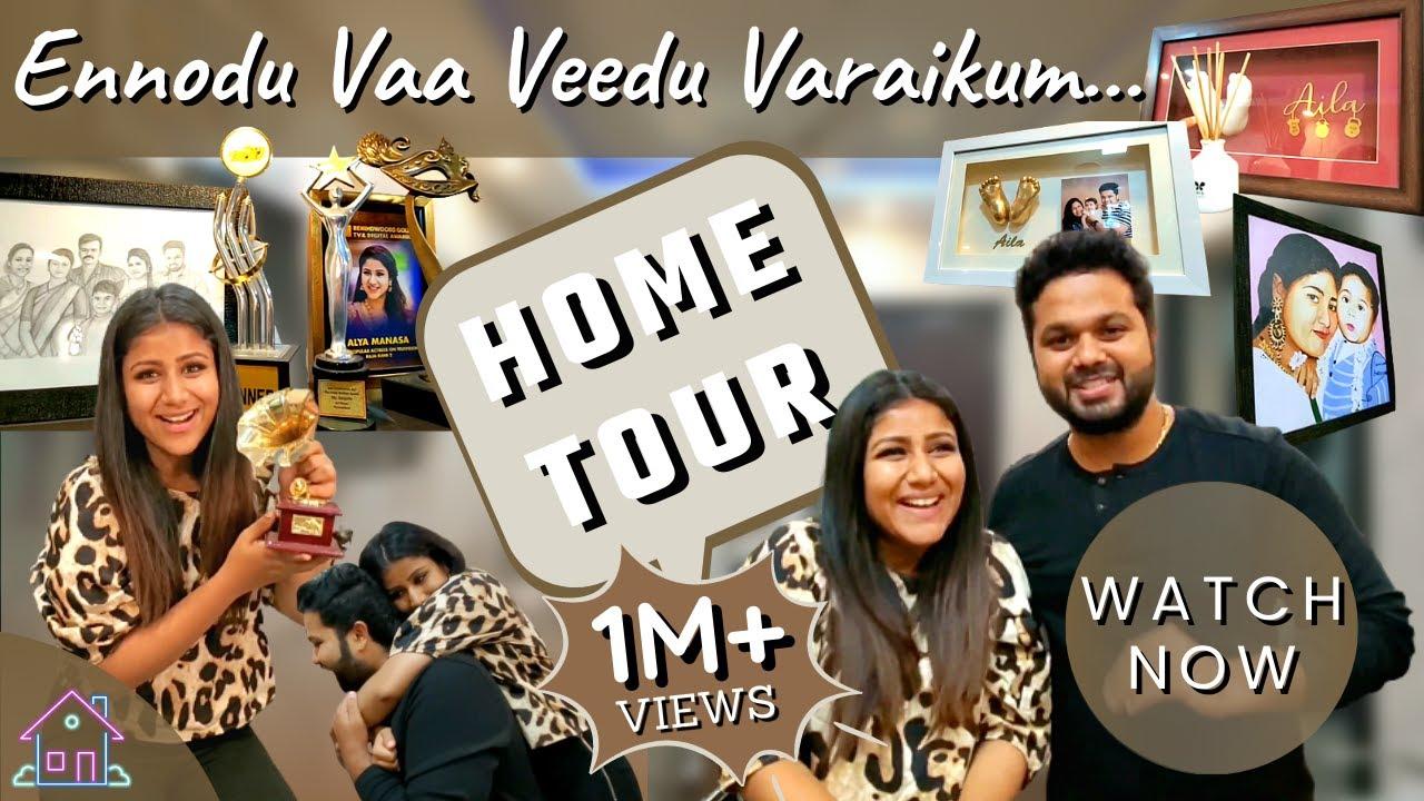 Ennodu Vaa Veedu Varaikum... En Veetai Paar Ennai Pidikkum... | Home Tour | Exclusive Video