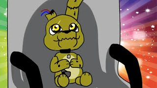 How to Make Five Nights at Freddy's 3 Not Scary! | FNAF 3 Not Scary! Baby Springtrap!