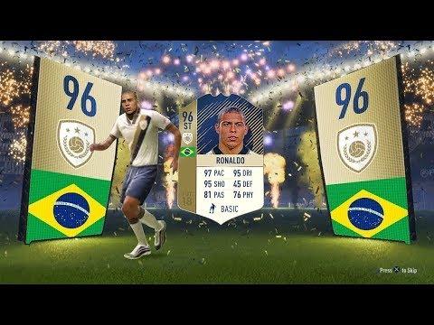 😱 ESTE LOCO DESCARTA A RONALDO PRIME DE 96 DE MEDIA EN FIFA 18