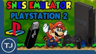 PlayStation 2 SNES Emulator! [USB & FreeMc Boot] (SNES Station) 2017!