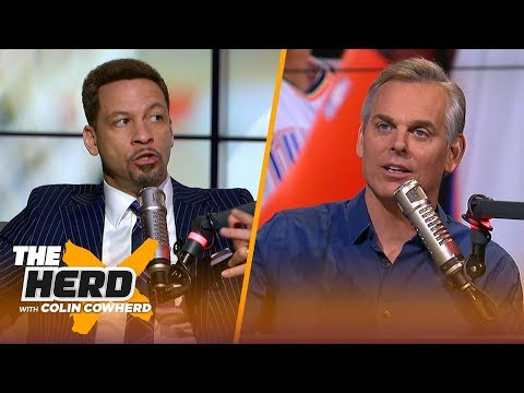 Chris Broussard discusses Paul George's season, the Lakers & Anthony Davis' future | NBA | THE HERD
