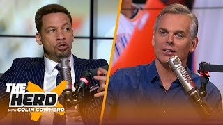 Chris Broussard discusses Paul George's season, the Lakers & Anthony Davis' future | NBA | THE HERD