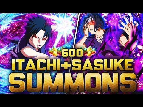 ** NEW ITACHI & SASUKE BLAZING BASH SUMMONS * | ** Naruto Ultimate Ninja Blazing *