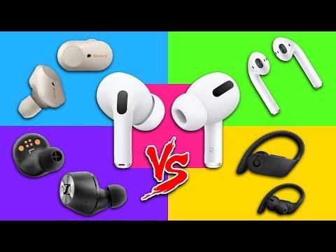 AirPods Pro vs Sony WF-1000XM3 vs Powerbeats Pro vs Sennheiser Momentum vs AirPods Review!