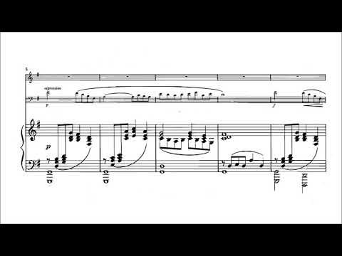 Claude Debussy - Piano Trio in G Major [With score]