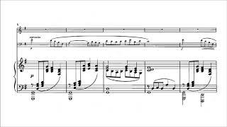 Claude Debussy Piano Trio in G Major With score.mp3