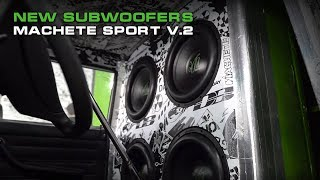 New Subwoofers for Crazy Russian LADA (Machete Sport v2) Quick Test and Review!