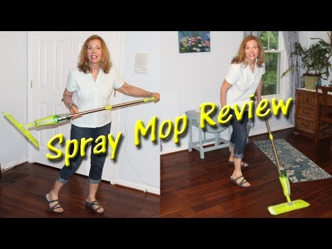 🍀SPRAY MOP 👀 HARDWOOD FLOORS Stick Mop Product Review 👈