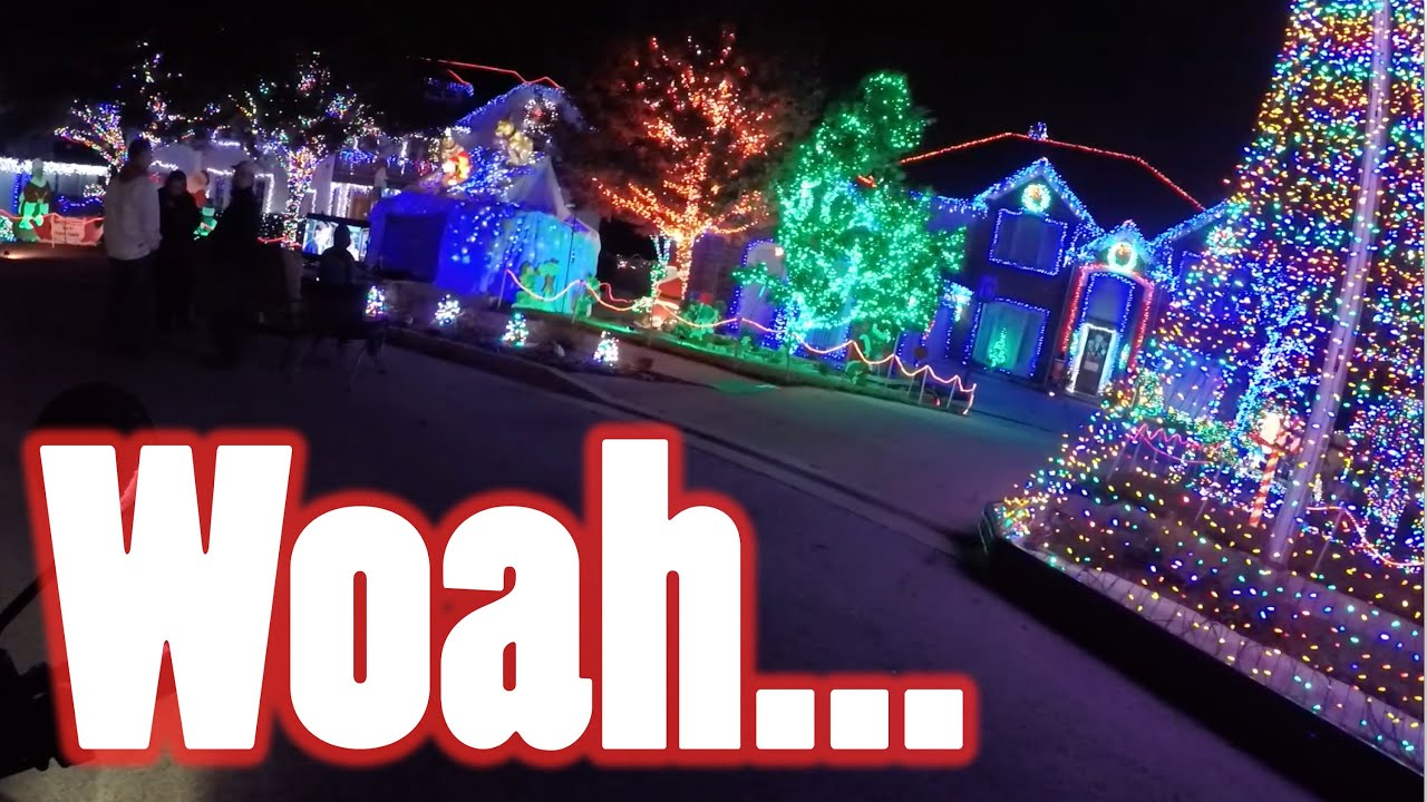 Best Christmas Light Setups - Cedar Park [Explore Austin] - YouTube