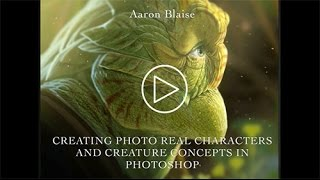 """Aaron Blaise """"Creating Photo Real Creatures in Photoshop"""" - Adobe Max Session 2014"""