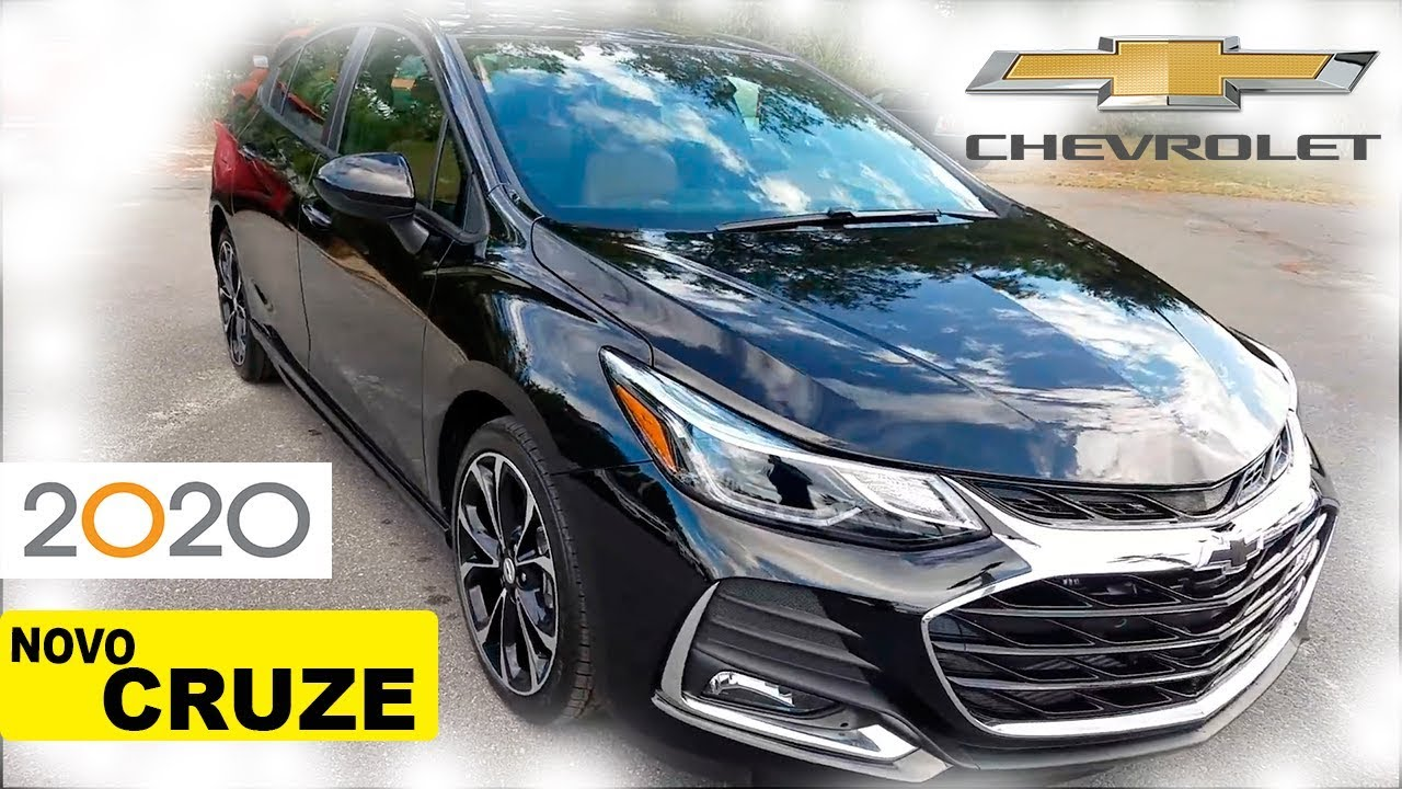 Novo Chevrolet Cruze 2020 4G WIFI - YouTube