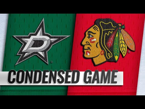 02/24/19 Condensed Game: Stars @ Blackhawks