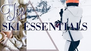 SKI TRIP ESSENTIALS+BEAUTY TIPS FOR THE COLD