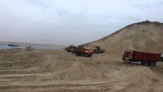 مشهد عام للحفر بمنطقة البلاح