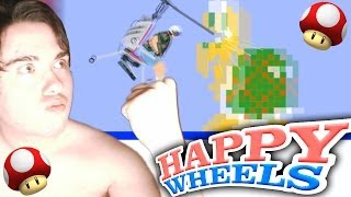 HAPPY WHEELS: MARIO BROS EN HELICOPTERO