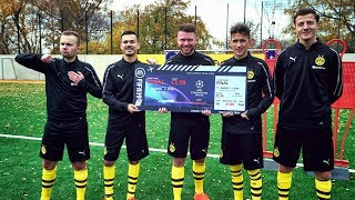 Fußball Challenge ums Champions League FINAL Ticket   (FeelFIFA, Proownez, Gamerbrother & Phineas)