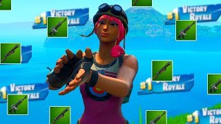 I Used ONLY Green Weapons In Fortnite And Was AMAZED... (secret meta )