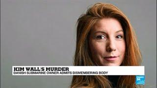 Denmark: Submarine inventor Peter Madsen admits dismembering Kim Wall's body