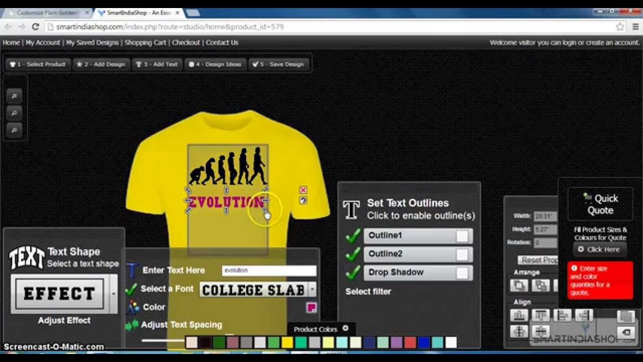 Customize Mens Roundneck T Shirts Online In Www Smartindiashop Com