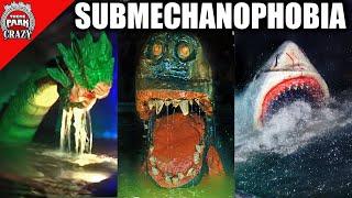 Top 10 SCARIEST Underwater Animatronics  Submechanophobia