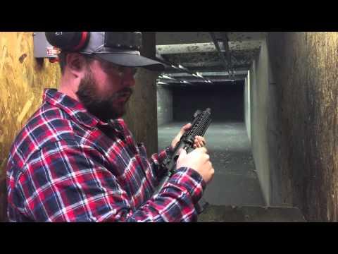 "Shooting the Liberty Gun Works ""Liberator"" Pistol AR at Bullseye in Lawrenceville GA"